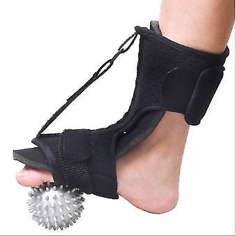 Fuß-Orthose Plantar Fascia Nacht freisetzung Schiene verstellbare Rücken Fuß Unterstützung Massage Ball für Männer und Frauen