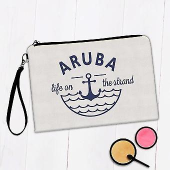 Gave Makeup Bag: Aruba Life på Strand Beach