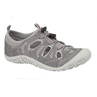 PDQ Splash Ladies Sporty Sandals Grey