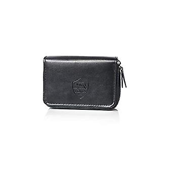 AS Roma, credit card wallet, multifunction with zippered closure