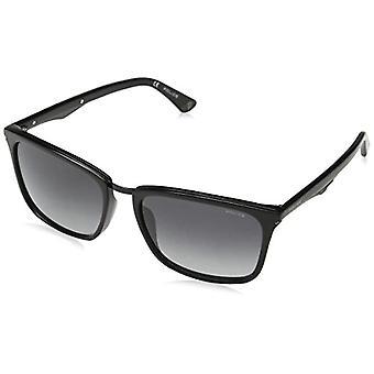 Police Blackbird 10 Sunglasses, Black (Shiny Black), 57 Men's