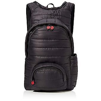 MorikukkoMorikukko Hooded Backpack Puffed Black RedUnisex - AdultoZainiRosso (Puffed Black Red)33x8x40 Centimeters (W x H x L)