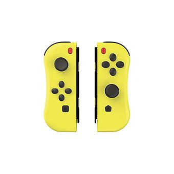 Under Control - Nintendo Switch ii-con Controllers - Yellow with wristbands