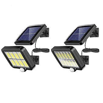 160led Solar Powered Outdoor Wandleuchte Pir Motion Sensor Dekoration Lampe