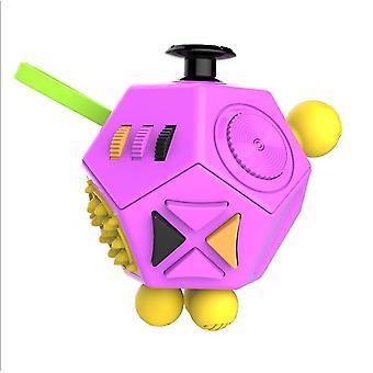 C3 12puolinen luova palapeli lelu, stressi lievittää ahdistuneisuuden vastaista stressikuutiota az8825