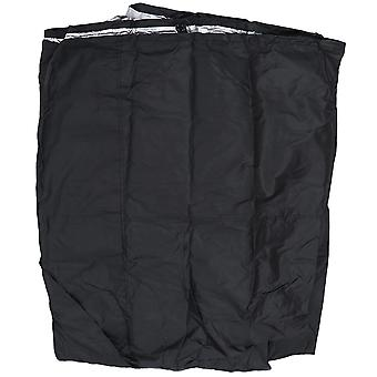 Black xl waterproof lawn mower riding tractor protective storage cover graden yard dt2084