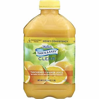 Hormel Thickened Beverage Orange Juice 46 oz, 1 Each