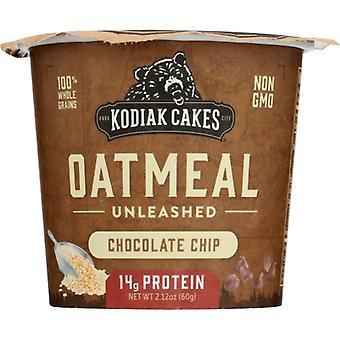 Kodiak Oatmeal Cup Choc Chip, Case of 12 X 2.12 Oz