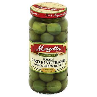 Mezzetta Olive Castelvetrano Celok, prípad 6 X 10 Oz