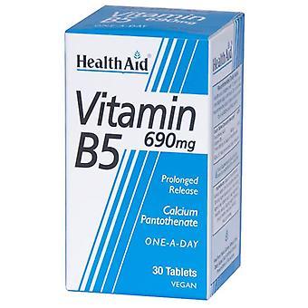 HealthAid Vitamiini B5 690mg Tabletit 30 (801060)