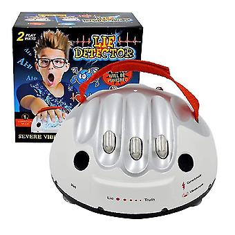 Lie Detector Game Friends Party Drinking Game 2-6 Players Adult Micro Electric Shock Heart Beat Lie