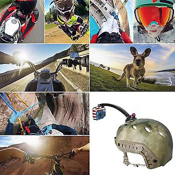 Puluz Pu78 Motorcycle Cycling Helmet Extension Arm Set Suitable For Gopro