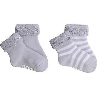 Hugo boss chaussettes de bébé j90168/771