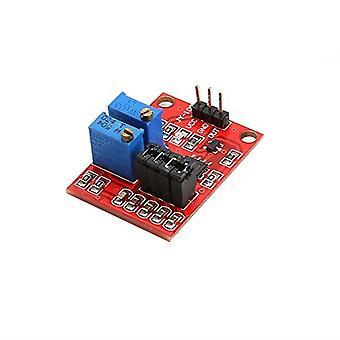 Ne555 pulsfrekvensmodul arbetscykel lm358 justerbar modul kvadratvåg signalgenerator uppgradering version
