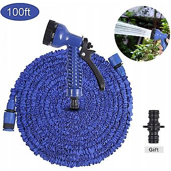 Watering Hose, Magic Extension Hose, Fast Connector With Water Hose, Extra-resistant Fabric Protection Pipe, Which Can Meet All Your Watering Needs (b