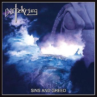 Blitzkrieg - Sins And Greed Vinyl