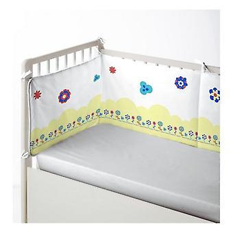 Protecteur de lit bébé Cool Kids Funny Lion (60 x 60 x 60 + 40 cm)