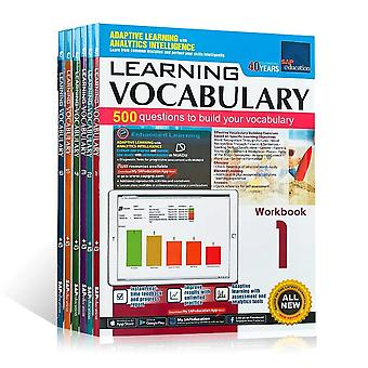 6 Books/Set Of Singapore's Vocabulary Of SAP Learning Vocabulary 1 6st Grade English Books