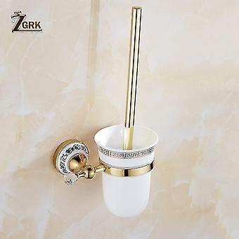 Bathroom accessory sets bathroom wall mount all copper chrome design gold paper holder tissue box bathroom accessories
