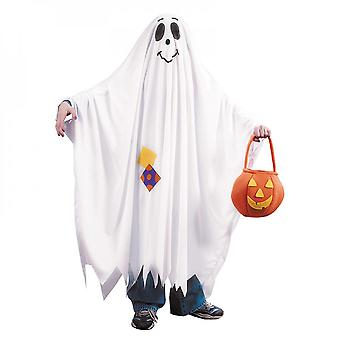 Halloween Child Costume Witch Ghost Cloak