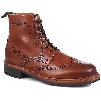 Jones Bootmaker Mens Baker Street Goodyear Welt Ankel stövlar