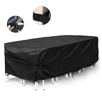Outdoor Waterproof Dustproof Oxford Cover For Garden Furniture Patio Table Chair