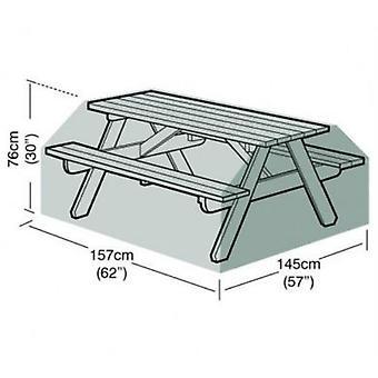 6 üléses piknik táblázat Cover kerti bútor polietilén zöld