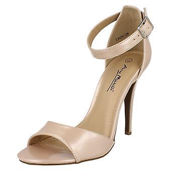 Dames Anne Michelle hoge hak Strappy sandalen L3424