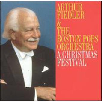 Fiedler & Boston Pop - Christmas Festival [Polygram] [CD] USA import