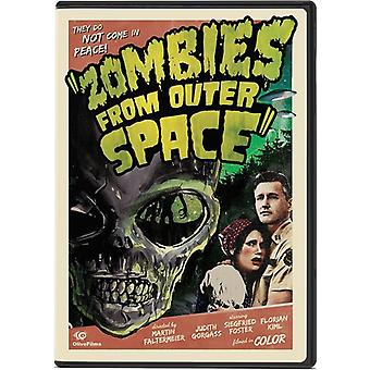 Importer des USA de zombies From Outer Space [DVD]