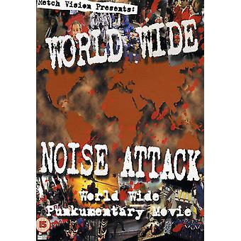World Wide Noise Attack the Movie [DVD] USA import