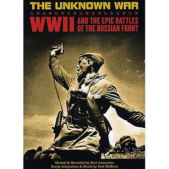 Ukendt krig: Verden War2 & episke slag af [DVD] USA importen