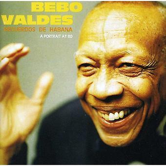 Bebo Valdes - Recuerdos De Habana [CD] USA import