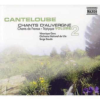 J. Canteloube - Cantoloube: Kanter D'Auvergne, Vol. 2 [DVD] USA import