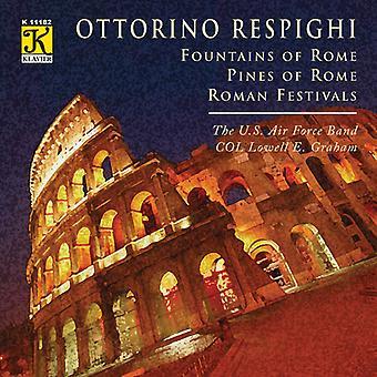 O. Respighi - Respighi: Fountains of Rome; Pines of Rome; Roman Festivals [CD] USA import