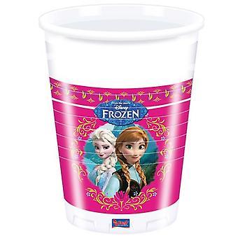 Mrożona ice Queen kubki urodziny dla dzieci Kids Party 8 szt