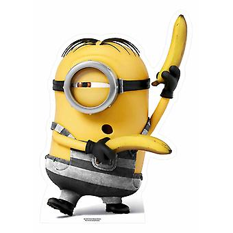 Prisoner Minion with Bananas Mini Cardboard Cutout / Standee / Stand up
