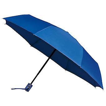 AMOS Auto öffnen & schließen Folding Umbrella - blau