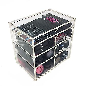 OnDisplay 4 Tier NYC Acryl Kosmetik/Make-up Organizer