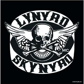 Lynyrd Skynyrd Coaster Biker Patch logo Official 9.5cm x 9.5cm single drink