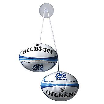 GILBERT scotland rugby dangle set