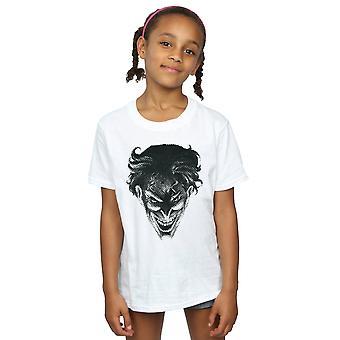 DC Comics niñas el lugar Joker cara t-shirt
