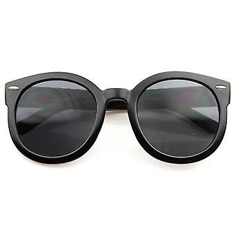Designer de mode Mod inspiré surdimensionné P3 en forme de cercle rond lunettes de soleil