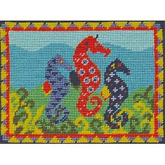 Sam's Seahorses Needlepoint Kit