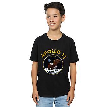 ناسا الأولاد الكلاسيكية أبولو 11 تي شيرت