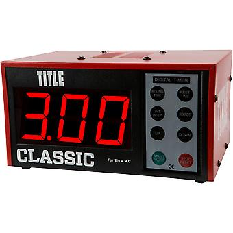 Titel Boxing Classic XL Digital Personaltraining Training Intervalltimer Gym