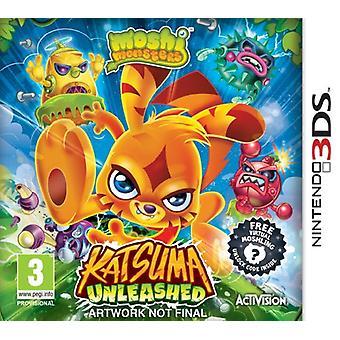 Moshi Monsters Katsuma Unleashed (Nintendo 3DS) - Factory Sealed