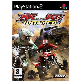 MX vs ATV Untamed (PS2) - New Factory Sealed