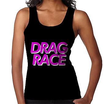 Træk Race Pink Font Kvinders Vest