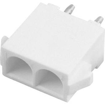 Custodia di TE Connectivity Pin - PCB Universal-MATE-N-LOK totale numero di spaziatura contatto pin 2: 6,35 mm 350786-1 1/PC